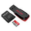Flash drives and SD cards