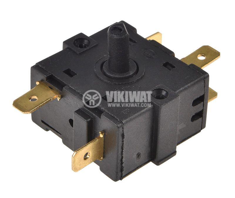 Електрически ключ 4поз., 16A/250VAC  - 2