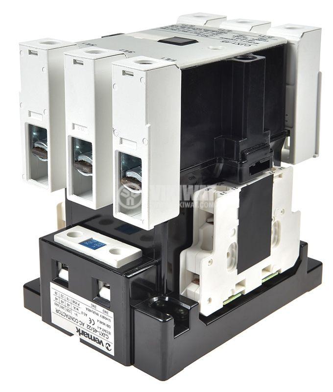 Contactor CJX1-45, 3P, 220V, 45A - 3