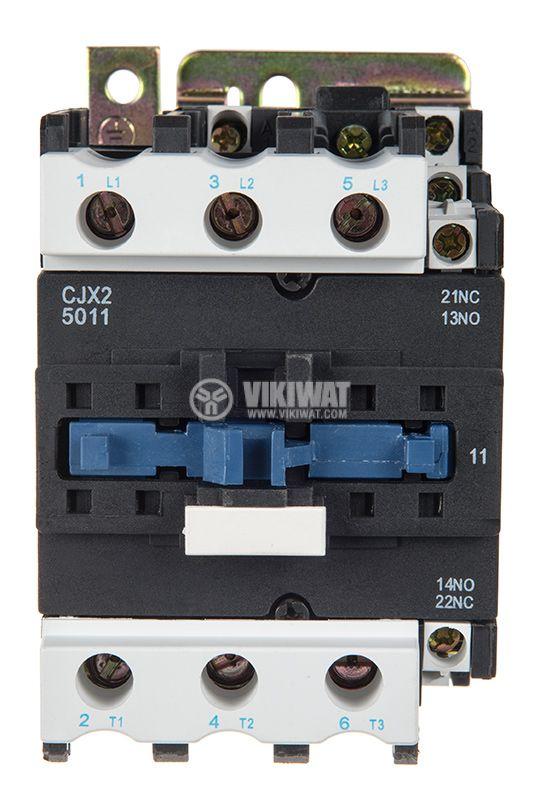 Контактор CJX2-D5011, 3P, 380V, 50A   - 2
