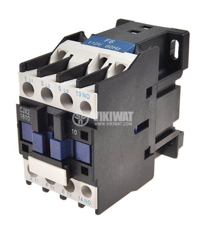 Contactor CJX2-D1810, 3P, 110V, 18A - 1