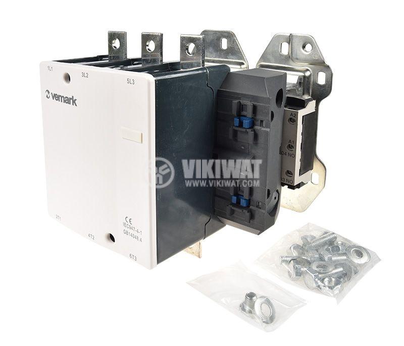 Contactor CJX2-D410, 3P, 220V, 410A - 2