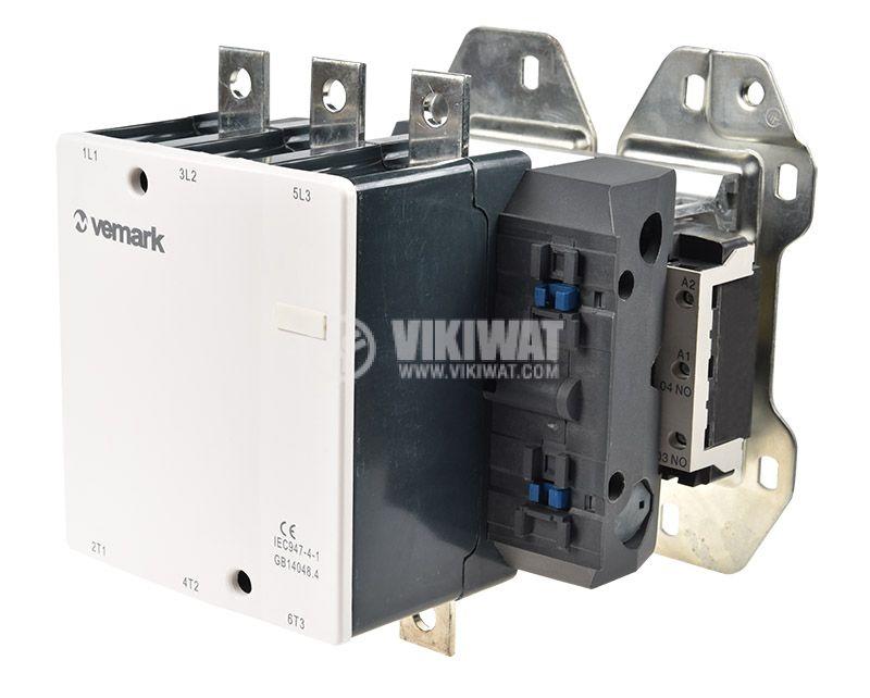 Contactor CJX2-D410, 3P, 220V, 410A - 1