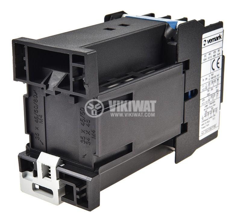 Contactor 3P, CJX2-0910Z, 12V, 9A - 2