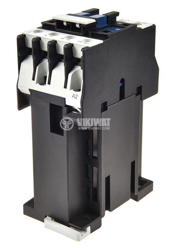 Contactor 3P, CJX2-0910Z, 12V, 9A - 5