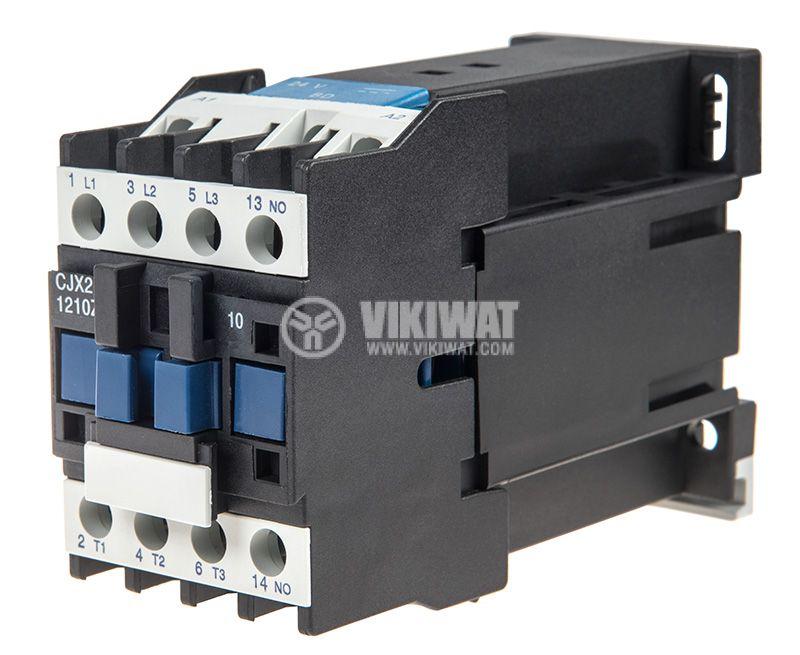 Contactor CJX2-1210Z, 3P, 24V, 12A   - 1