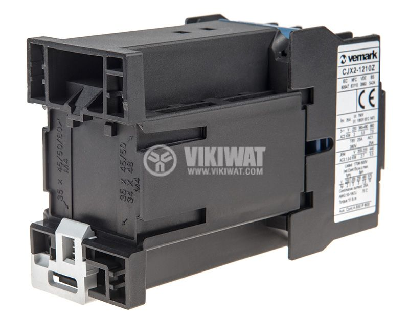 Contactor CJX2-1210Z, 3P, 24V, 12A   - 3