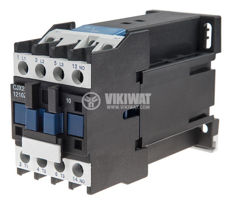 Contactor CJX2-1210Z, 3P, 48V, 12A   - 1