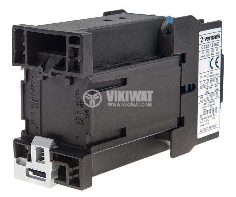 Contactor CJX2-1210Z, 3P, 48V, 12A   - 3