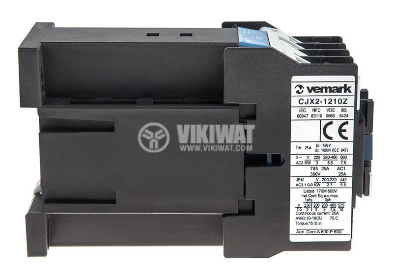 Contactor CJX2-1210Z, 3P, 48V, 12A   - 4