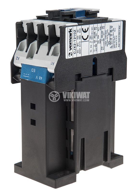 Contactor CJX2-1210Z, 3P, 48V, 12A   - 5