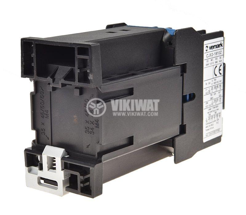 Contactor CJX2-1810Z, 3P, 48V, 18A - 2