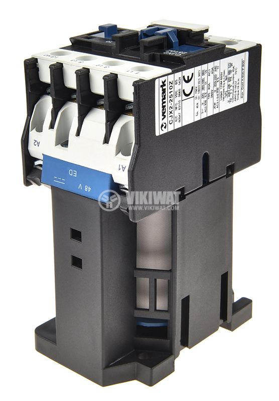 Контактор CJX2-2510Z, 3P, 48V, 25A - 4