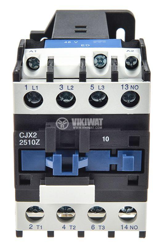 Контактор CJX2-2510Z, 3P, 48V, 25A - 5