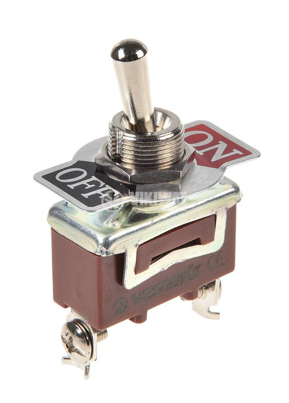 Toggle switch 1021B, 15A/250VAC, SPST - 1