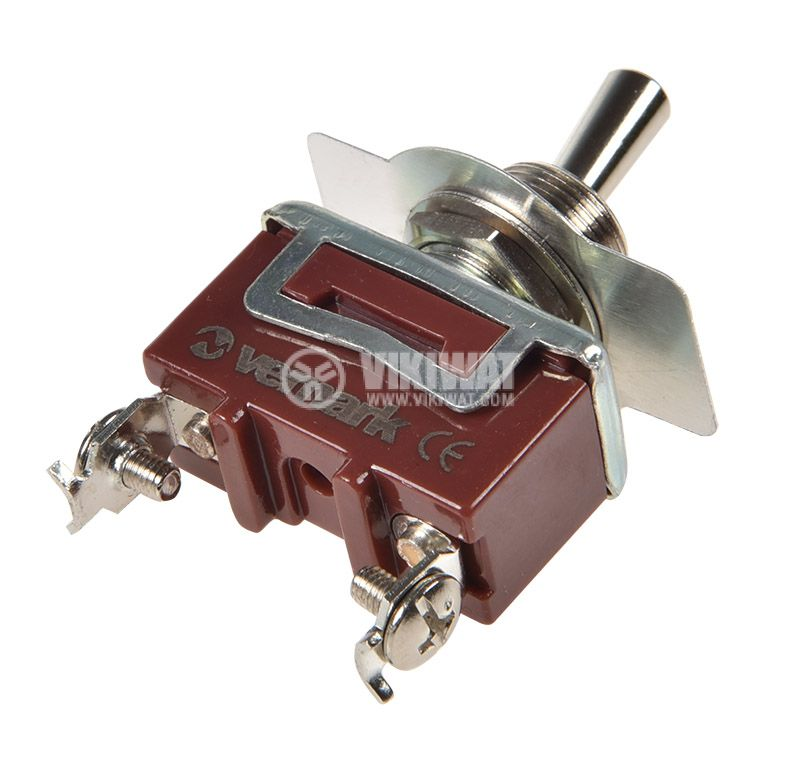 Toggle switch 1021B, 15A/250VAC, SPST - 2