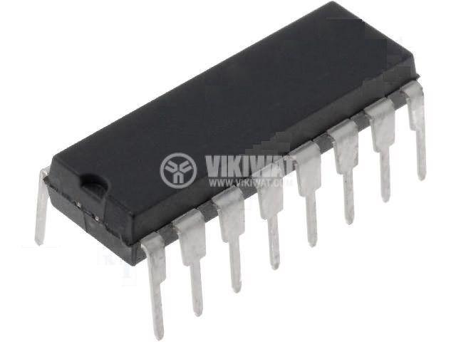 Интегрална схема SN74HC165N, TTL съвместима, DIP16 - 1
