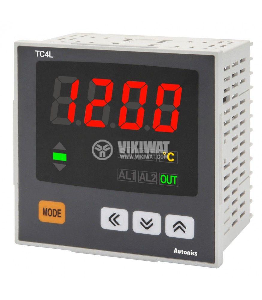 Термоконтролер TC4L-14R 100~240VAC -100~1200°C Cu50 Pt100 J K L - 6