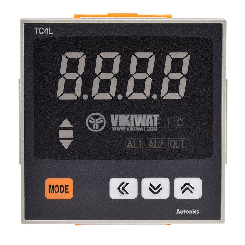 Термоконтролер TC4L-14R, 100~240VAC, -100~1200°C, Cu50, Pt100 - 5