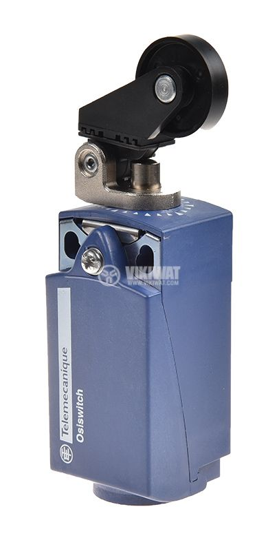 Limit switch XCKP2128P16, 3A/240VAC, NO+NC, with spring return, roller - 2