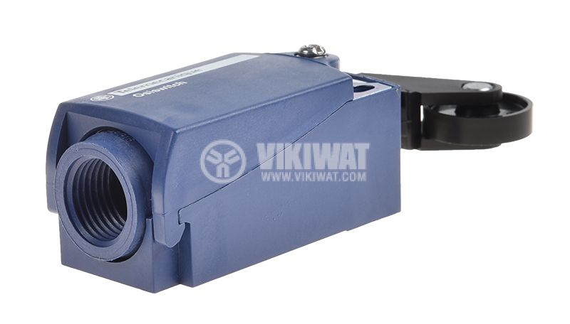 Limit switch XCKP2128P16, 3A/240VAC, NO+NC, with spring return, roller - 4