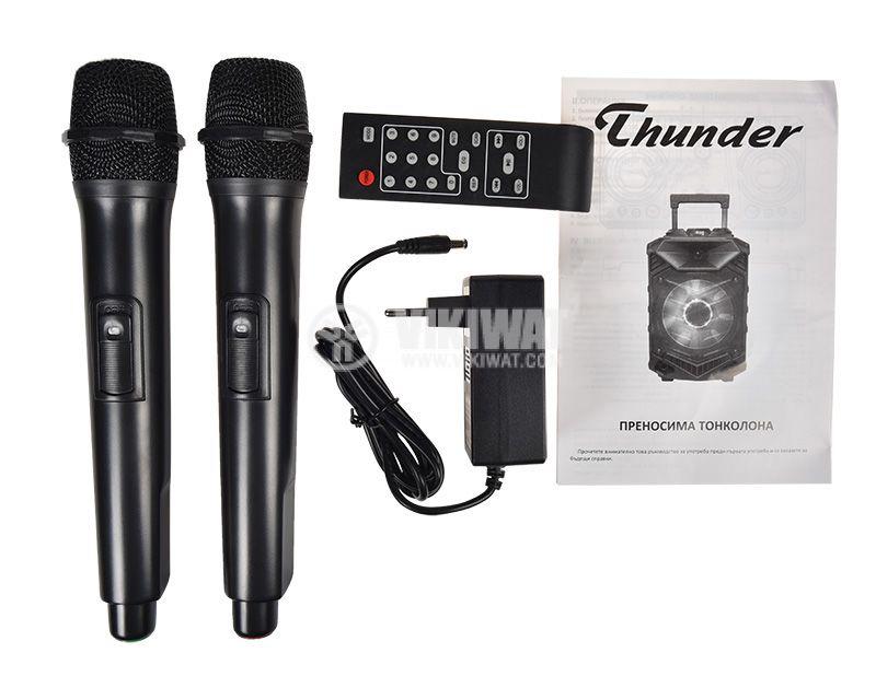 Karaoke system THS-B1201BTW, 50W, 4ohm, 40~20000Hz  - 6