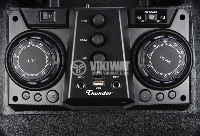 Karaoke system THS-B1201BTW, 50W, 4ohm, 40~20000Hz  - 9