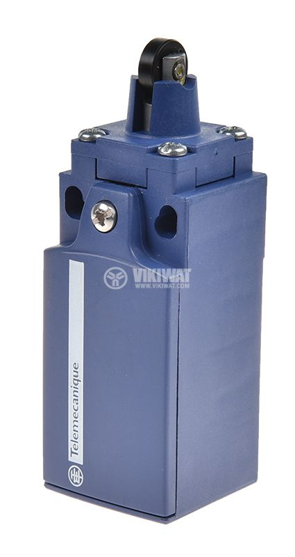 Limit switch XCKN2103G11, 3A/240VAC, NO+NC, with spring return, pusher with roller - 2