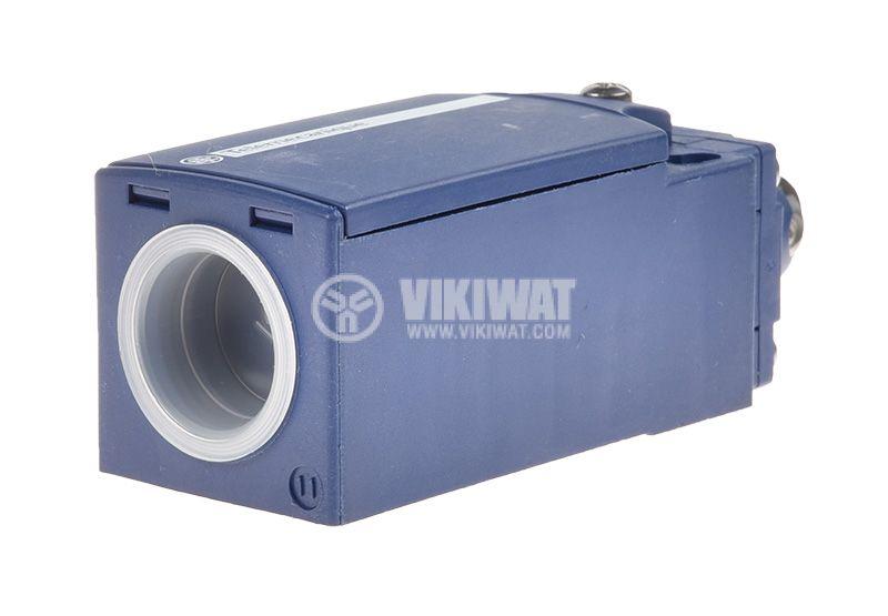 Краен изключвател XCKN2103G11, 3A/240VAC, NO+NC, незадържащ, щифт с ролка - 4
