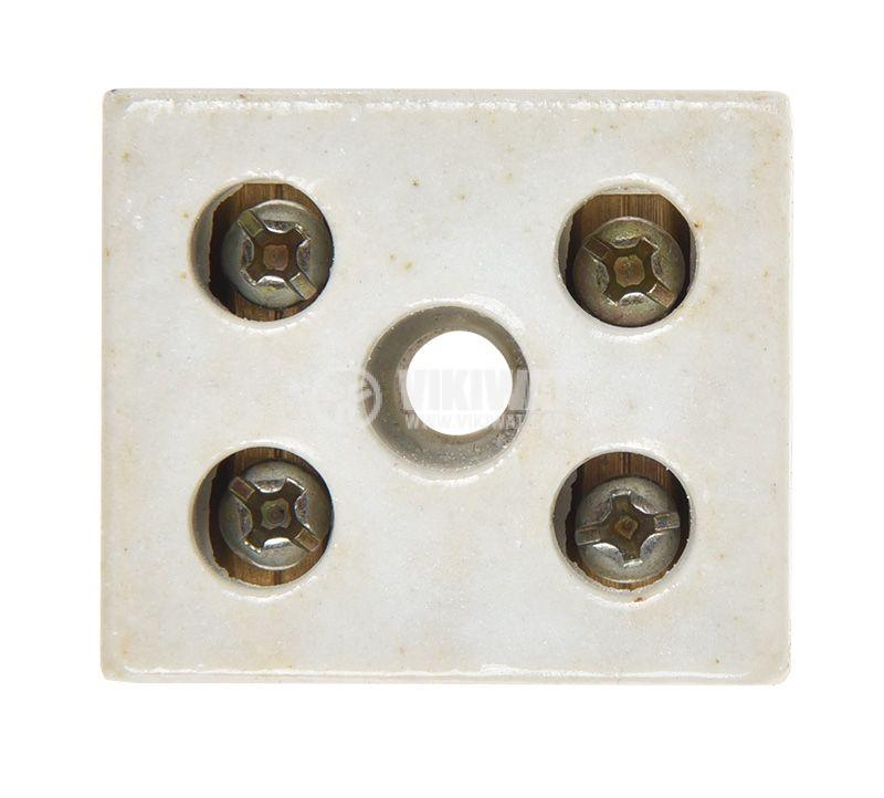 Luster terminal 30A/250V 250V 30A 10mm2 ceramics - 2