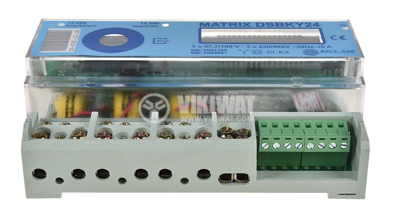 Electrometer three phase, MATRIX DSBKY24, electronic, 400V, 10A - 2