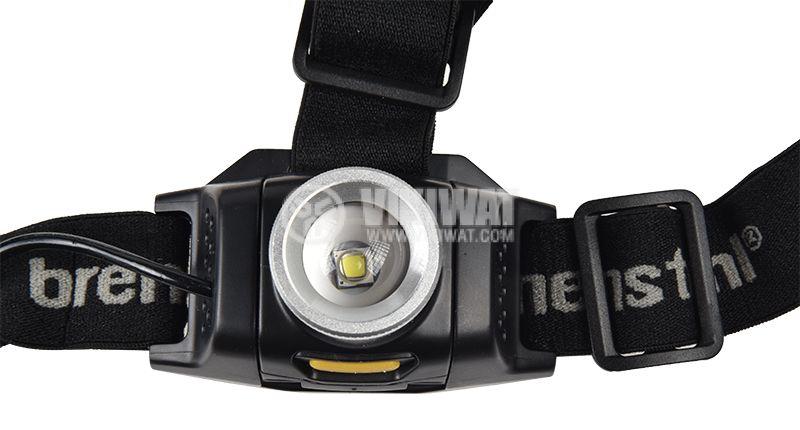 LED headlight KL 200F, LuxPremium, Brennenstuhl, 3xAA, 1LED, plastic, 200lm,  IP44, waterproof, 1178780 - 5