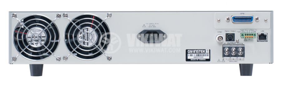 Захранващ блок APS-7050 програмируем 4.2A до 310V 2 канала 500VA - 3