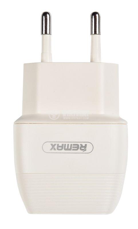 Зарядно за смартфон и таблет, 2.1A, 5VDC, Flinc RP-U29, бяло  - 5