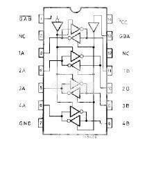 Интегрална схема 74HC242, TTL съвместима, QUAD BUS TRANSCEIVER (3-STATE), DIP14 - 2