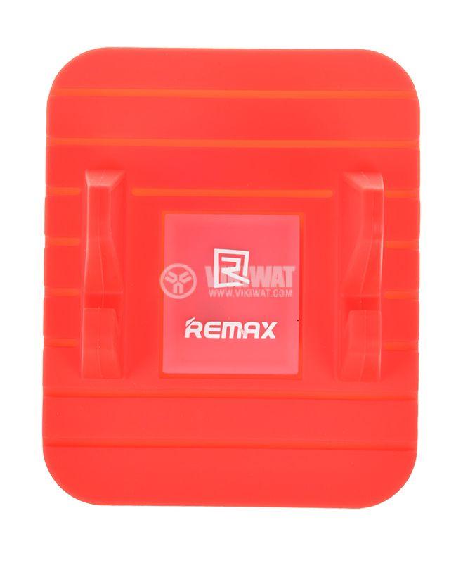 Стойка за телефон Remax Fairy за автомобил 120° червена  - 2