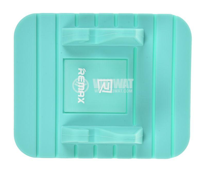 Стойка за телефон Remax Fairy за автомобил 120° синя  - 2