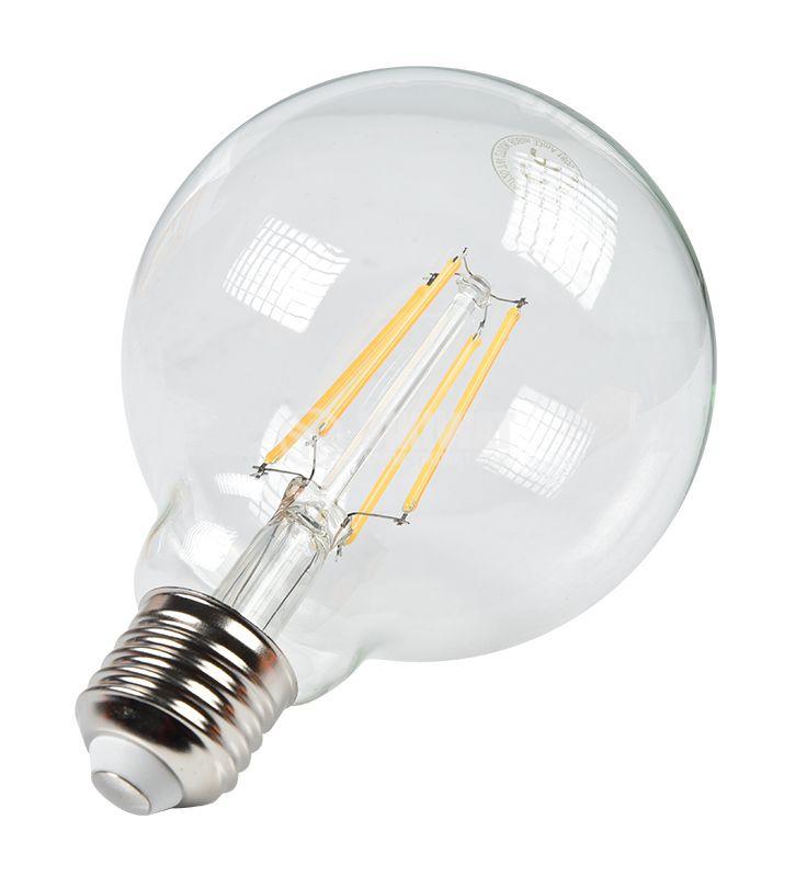 Едисон LED лампа тип FILAMENT, 7W, E27, сферична форма, опция за димиране на светлината, Braytron - 3