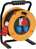 Extension reel Brennenstuhl 3-way 40m 5x1.5mm2 yellow, 1316200