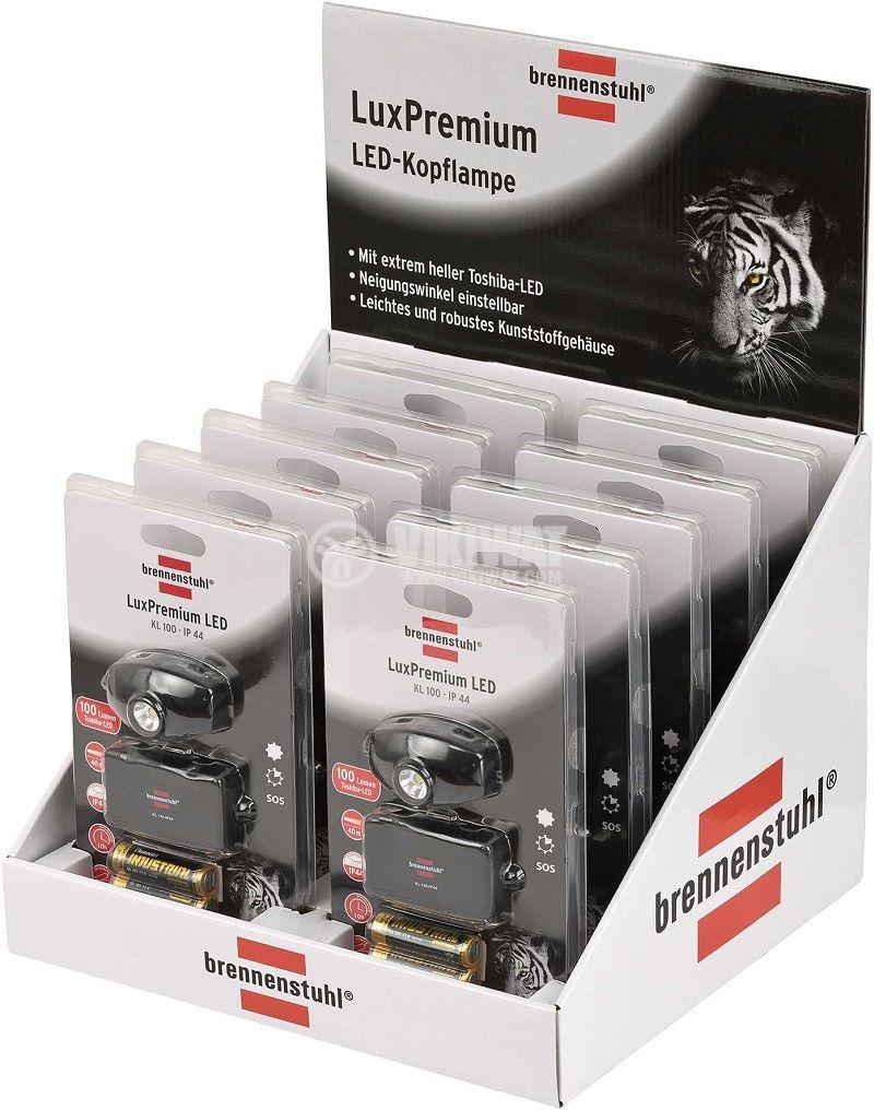 LED челник KL 100 Brennenstuhl 2xAA 1LED - 10