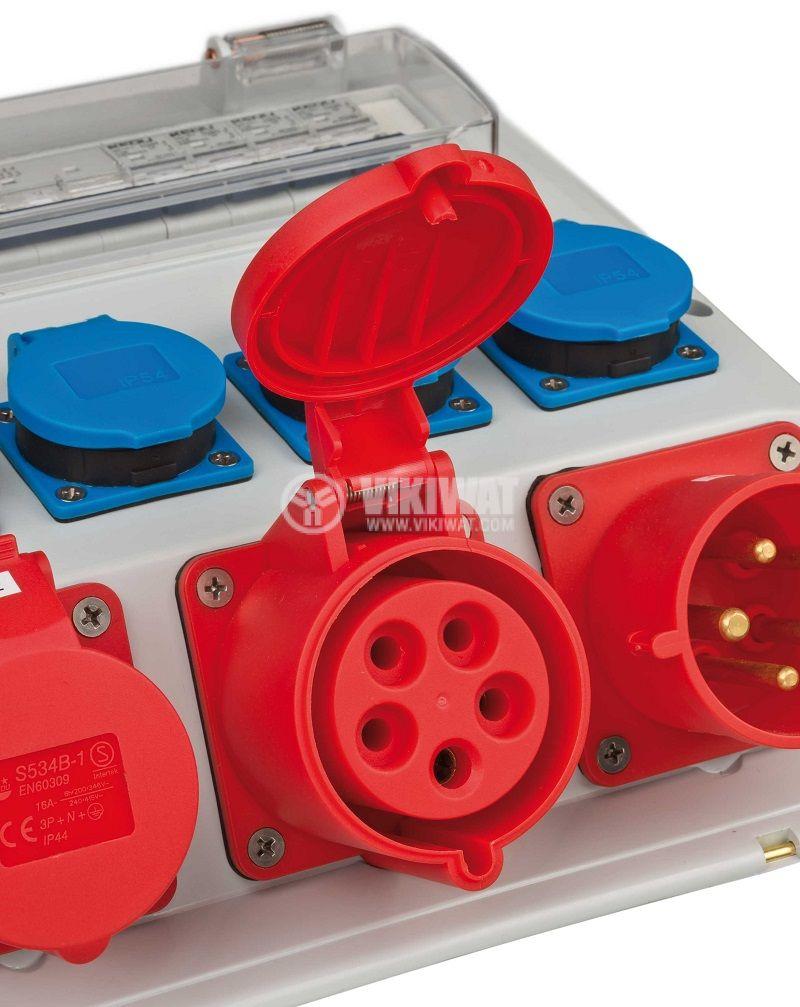 Power distributor, Brennenstuhl, WV 4/32 A, IP44, waterproof, 1154890020 - 3