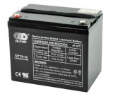 Battery 75Ah, traction battery, 12V, M6