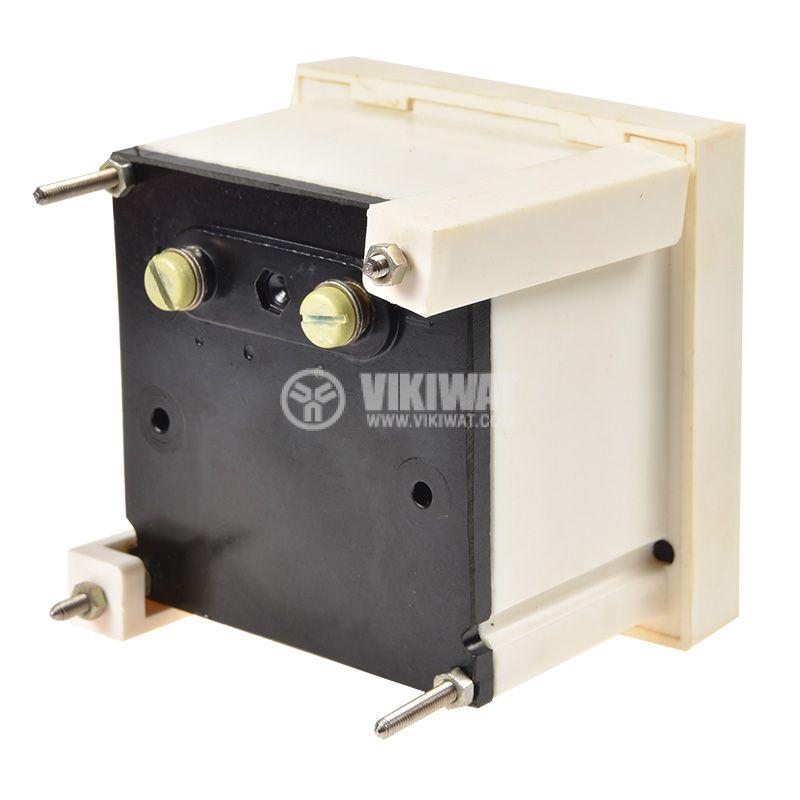 Амперметър DC, 0~30A, с шунт 30A/60mV, 80x80x60mm, M23   - 3