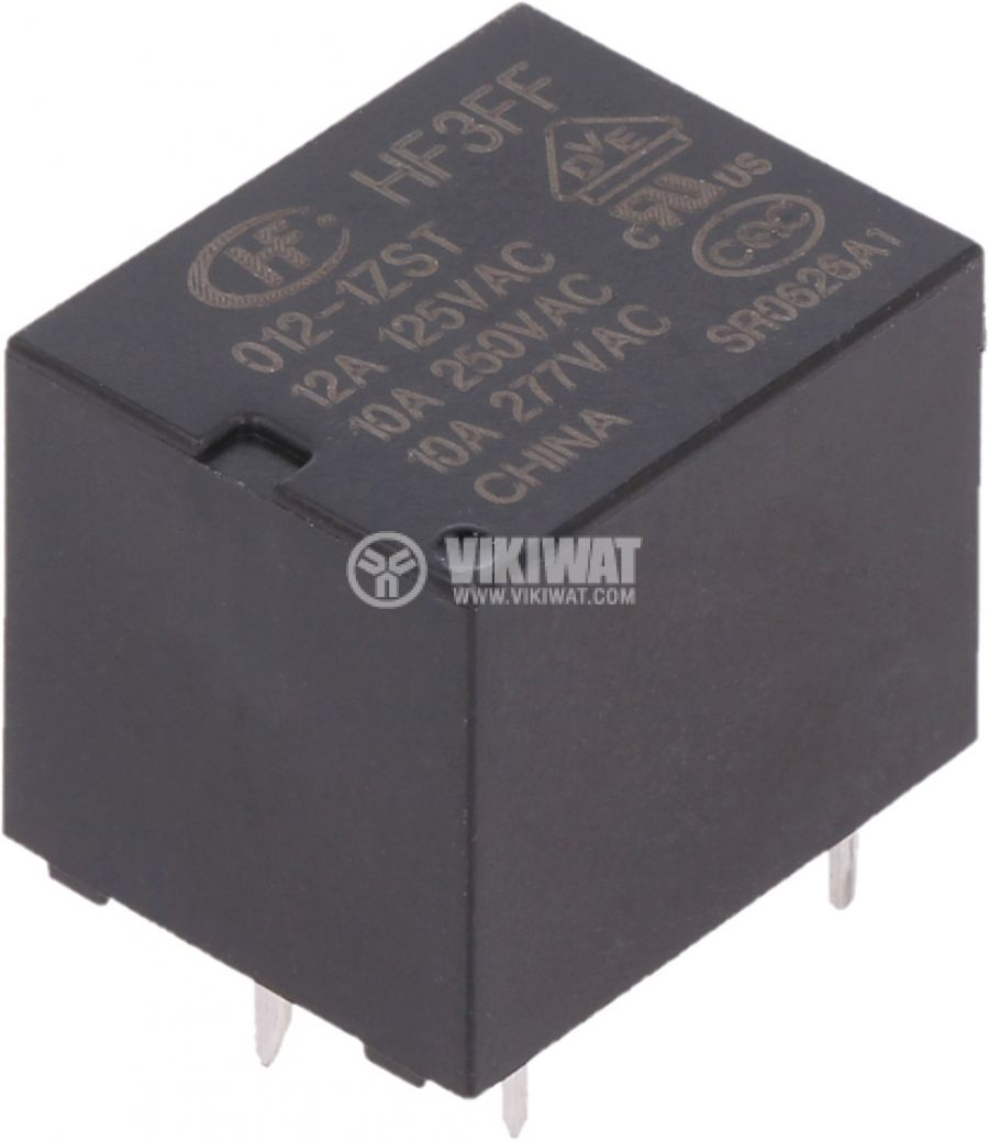 Electromechanical relay HF3FF/012-1ZST - 1