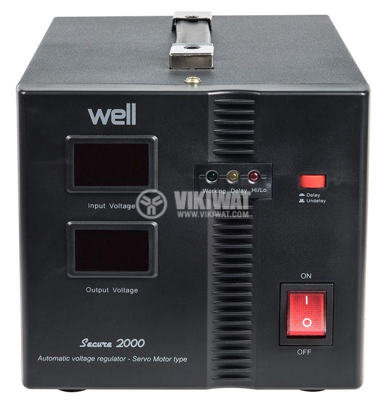 Стабилизатор на напрежение AVR-SRV-SECURE2000-WL - 1