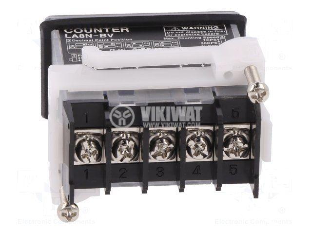 Impulse counter LA8N-BV electronic 4.5~30VDC OC PNP voltage - 2