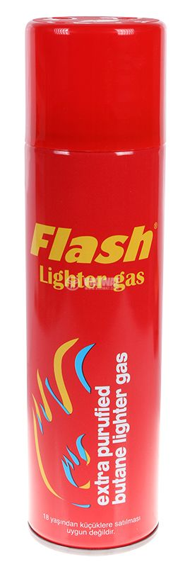 """Lighters gas """"Flash"""", 270 ml, 4 adapters - 1"""