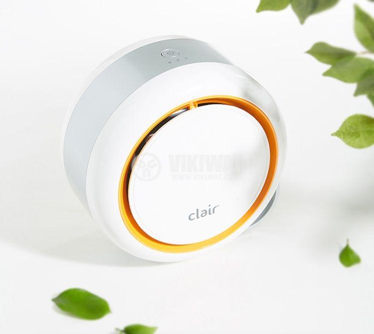 Малък пречиствател на въздух Clair BF2025 оранжев - 4