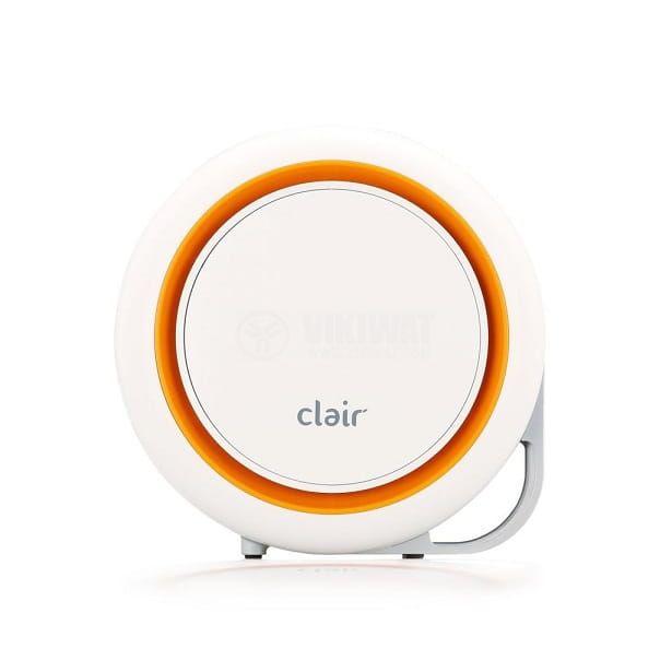 Икономичен пречиствател за въздух с e2f филтър Clair Ring 1, площ 30m2, 3 степени, 2.4W - 1