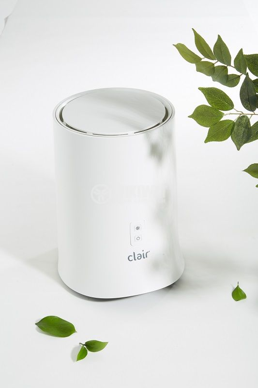 Portable and noiseless air purifier made in Korea, TD1866 Clair, 5.3 watts, e2f patented filter better than HEPA filter - 2